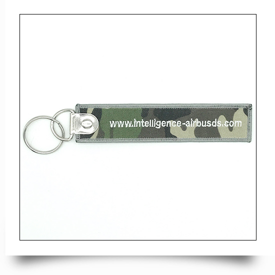 Airbus Logo Embroidered Keyring