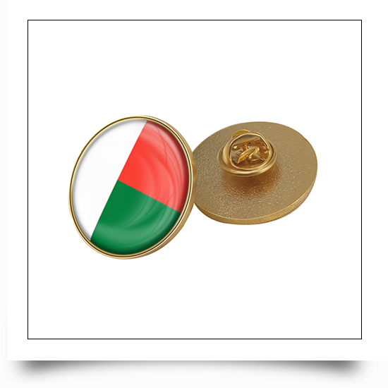 All National Flags Available Metal National Flag Pin