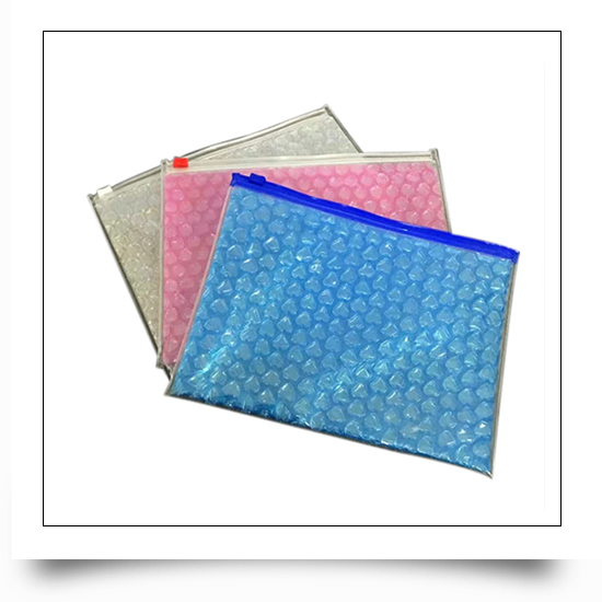 Bubble Protective Packaging Bag with Zipper
