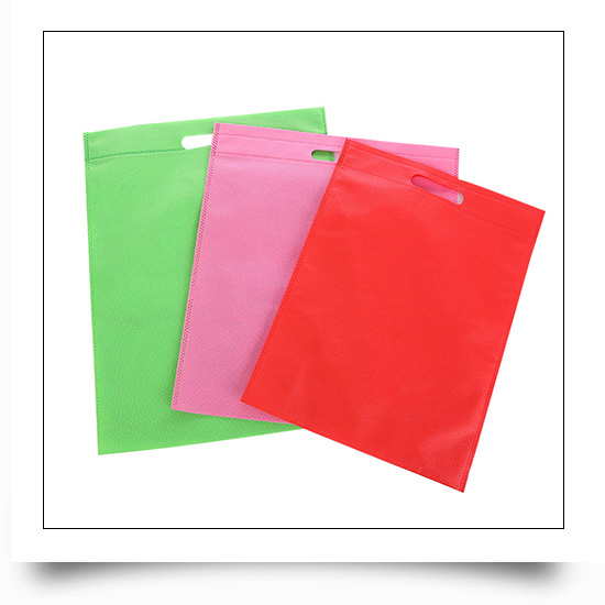 Custom Non Woven Fabric Carry Tote Bags