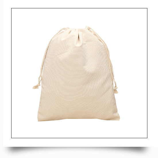 Drawstring Cotton Tote Small Canvas Bags