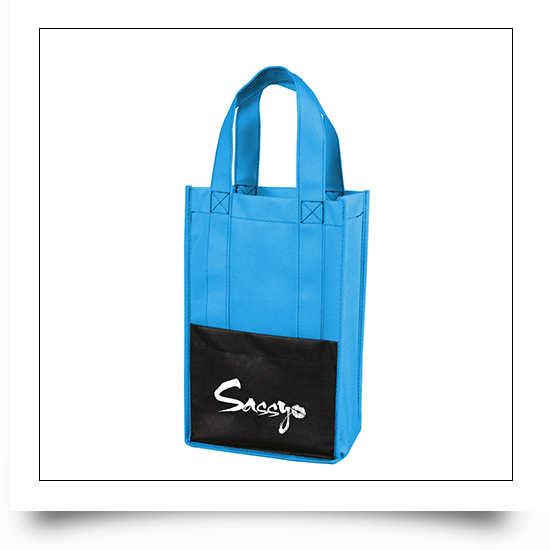 Eco-friendly Non Woven Wine Packaging Bag