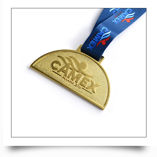 Metal Swimming Event Medal