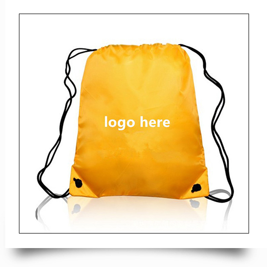 Promotional Eco-friendly Reusable Drawstring Backpack