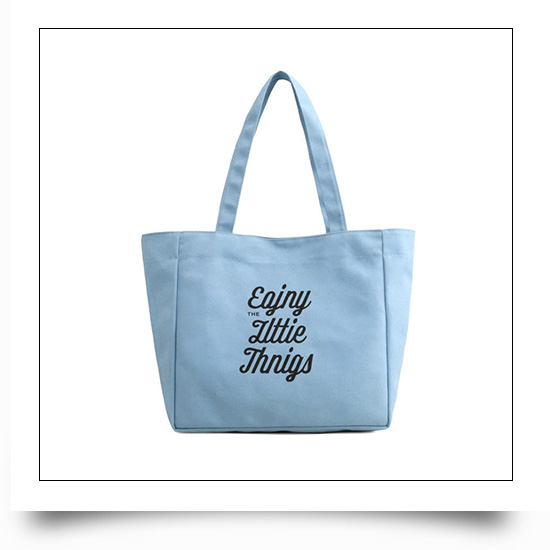 Promotional Portable Reusable Canvas Grocery Bags