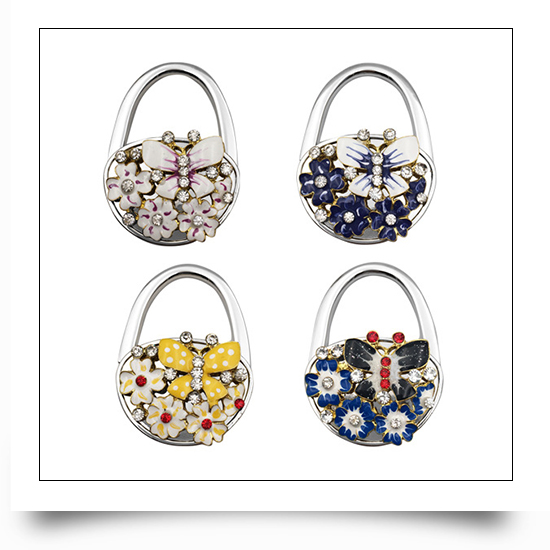 Butterfly Wholesale Purse Hooks For Tables