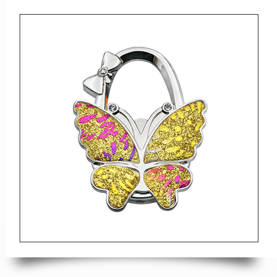 Colorful Butterfly Bag Hanger