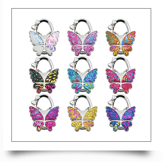 Foldable Colorful Butterfly Bag Hanger