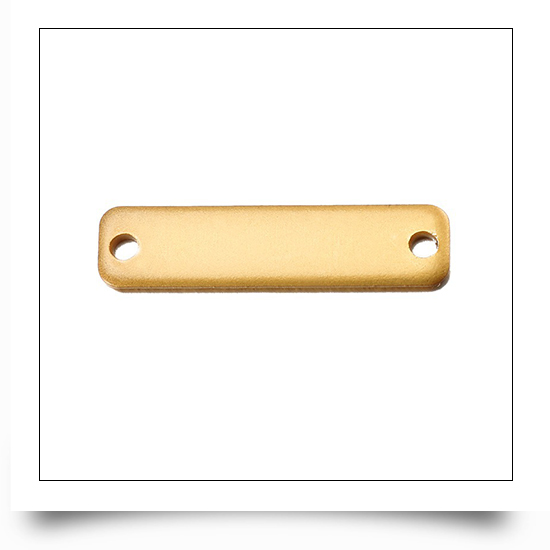 Gold Metal Logo Tags for Beanies