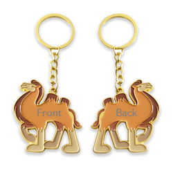 Double side keychains