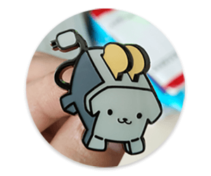 Finished Pin