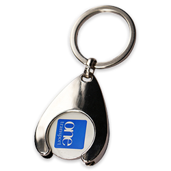 Trolly Coin keychains